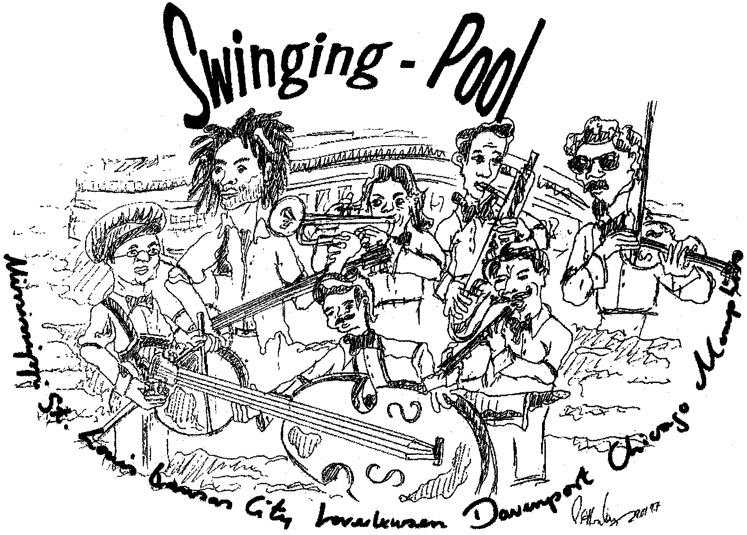 Swinging Pool